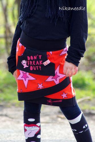 Produktfoto von MiToSa-Kreativ zum Nähen für Schnittmuster Shabby Skirt Kids