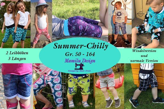 Produktfoto von Mamilu Design für Schnittmuster Summer-Chilly