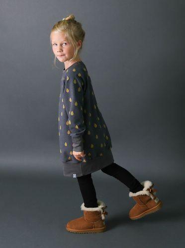 Produktfoto von Kid5 zum Nähen für Schnittmuster #45 Sweat Kleid Girls