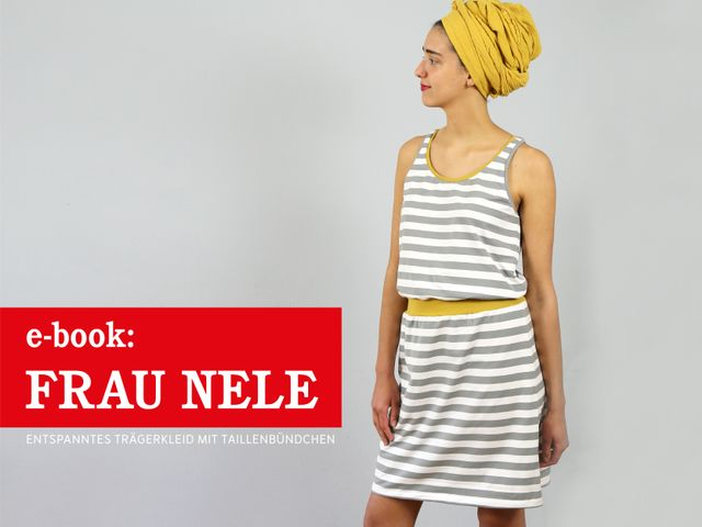 Produktfoto von STUDIO SCHNITTREIF zum Nähen für Schnittmuster Frau Nele