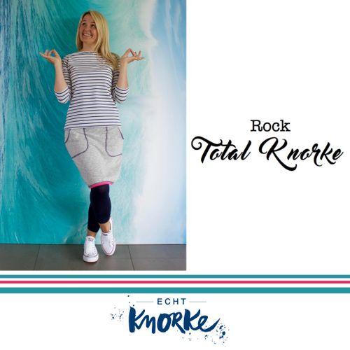Produktfoto von echt Knorke zum Nähen für Schnittmuster Rock Total Knorke