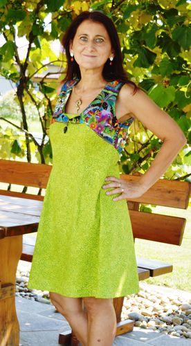 Produktfoto von SchnittmusterLounge zum Nähen für Schnittmuster Kleid PETITE Angie