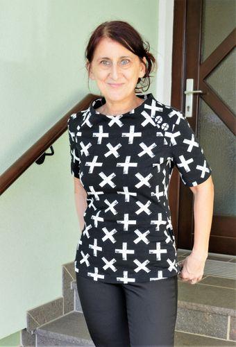 Produktfoto von SchnittmusterLounge zum Nähen für Schnittmuster Shirt PETITE Miss X