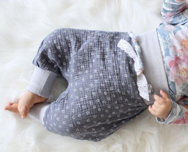 Produktfoto von Kid5 zum Nähen für Schnittmuster #68 Cutie Pants Baby & Bloomer
