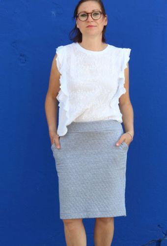 Produktfoto von Kid5 zum Nähen für Schnittmuster #67 Cosy Skirt Women
