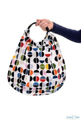 Produktfoto von Schnittmuster Berlin zum Nähen für Schnittmuster Tasche Gina