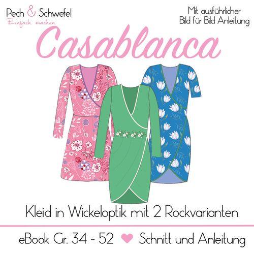 Produktfoto von Pech & Schwefel zum Nähen für Schnittmuster Kleid Casablanca