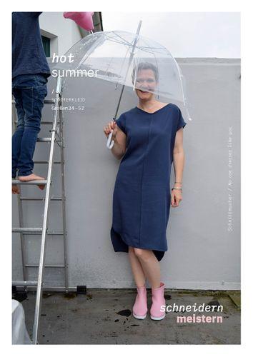 Produktfoto von schneidernmeistern zum Nähen für Schnittmuster hot summer