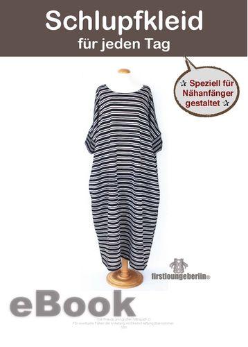 Produktfoto von Firstlounge Berlin zum Nähen für Schnittmuster Schlupfkleid One Size