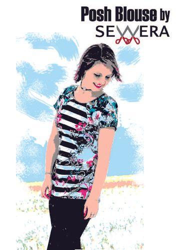 Produktfoto von sewera zum Nähen für Schnittmuster Posh Blouse