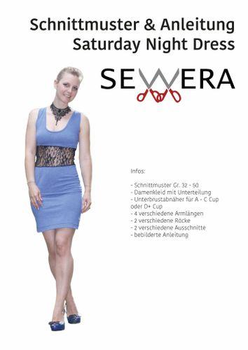Produktfoto von sewera zum Nähen für Schnittmuster Saturday Night Dress