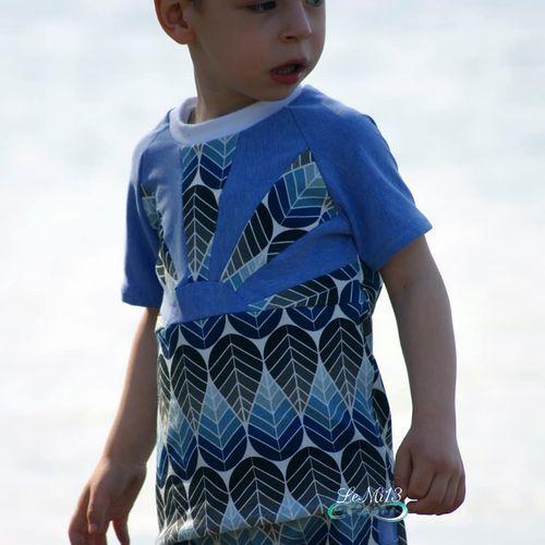 Produktfoto von Engelinchen zum Nähen für Schnittmuster sunrise Shirt