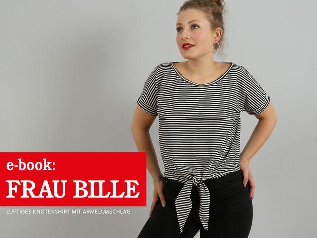 Produktfoto von STUDIO SCHNITTREIF zum Nähen für Schnittmuster Frau Bille