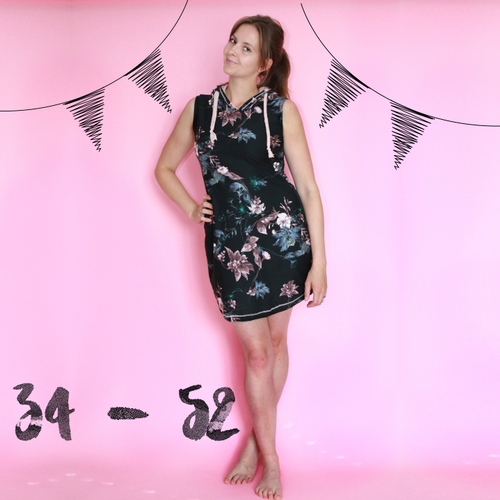 Produktfoto von Anni Nanni zum Nähen für Schnittmuster Hot Muddi Hoody