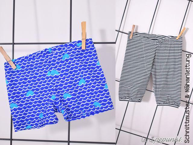 Produktfoto von Leni Pepunkt zum Nähen für Schnittmuster BADEMEISTER4kids