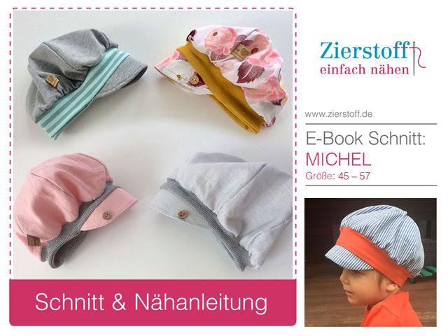 Produktfoto von Zierstoff zum Nähen für Schnittmuster Kappe Michel