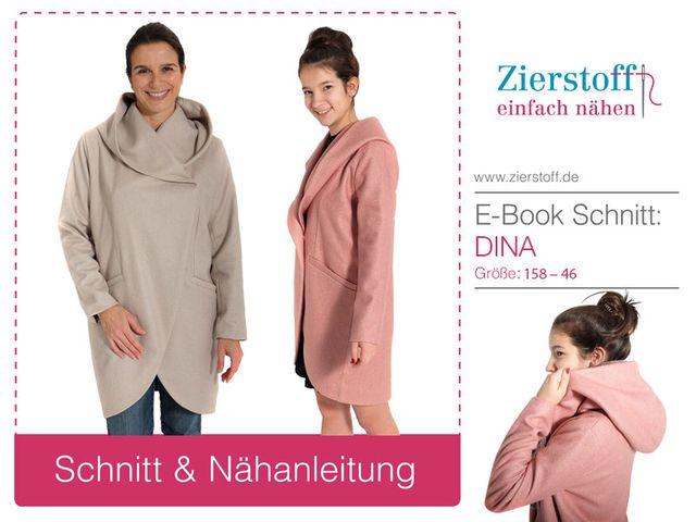 Produktfoto von Zierstoff für Schnittmuster Jacke Dina 158-46