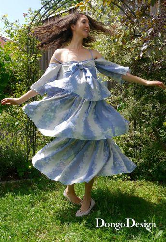Produktfoto von DongoDesign zum Nähen für Schnittmuster Sommerkleid Paris 79