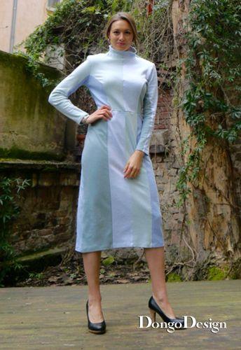 Produktfoto von DongoDesign zum Nähen für Schnittmuster Jerseykleid Jerseystripes