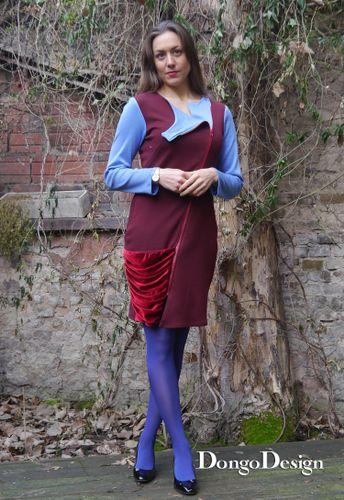 Produktfoto von DongoDesign zum Nähen für Schnittmuster Jerseykleid Sabine