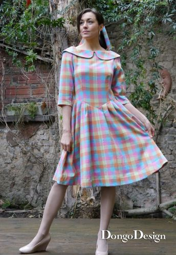 Produktfoto von DongoDesign zum Nähen für Schnittmuster Kleid Connie