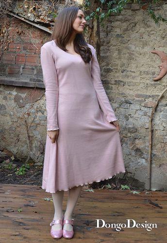Produktfoto von DongoDesign zum Nähen für Schnittmuster Jerseykleid Kate