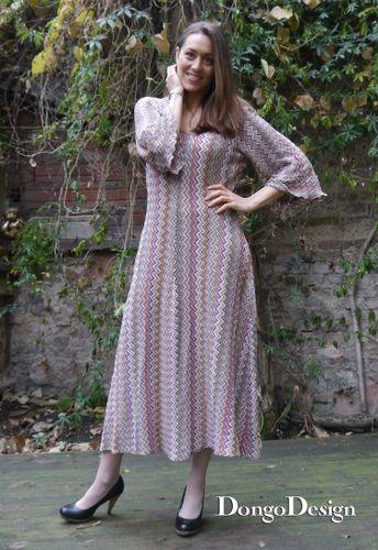 Produktfoto von DongoDesign für Schnittmuster Easy-Jerseykleid Kathrin