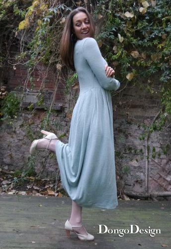 Produktfoto von DongoDesign zum Nähen für Schnittmuster Jerseykleid Christine