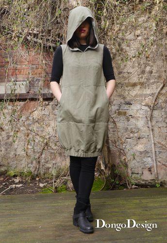 Produktfoto von DongoDesign zum Nähen für Schnittmuster Kleid Safari-Jane