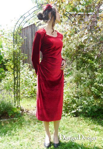 Produktfoto von DongoDesign für Schnittmuster Easy-Jerseykleid Florida