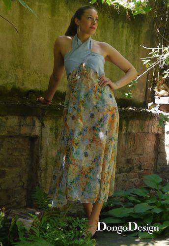 Produktfoto von DongoDesign zum Nähen für Schnittmuster Sommerkleid Jana