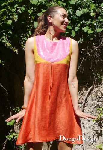 Produktfoto von DongoDesign zum Nähen für Schnittmuster Sommerkleid Sunny