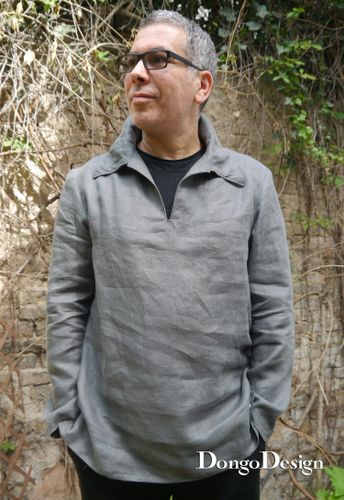 Produktfoto von DongoDesign zum Nähen für Schnittmuster Hemd Zorbas