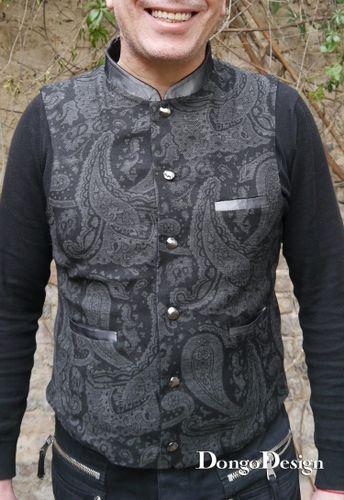 Produktfoto von DongoDesign zum Nähen für Schnittmuster Weste Robert