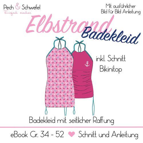 Produktfoto von Pech & Schwefel zum Nähen für Schnittmuster Elbstrand Badekleid