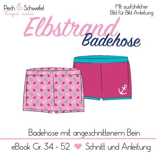 Produktfoto von Pech & Schwefel für Schnittmuster Elbstrand Badehose