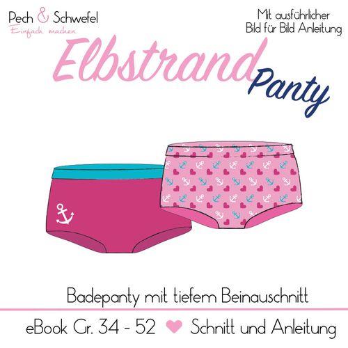 Produktfoto von Pech & Schwefel zum Nähen für Schnittmuster Elbstrand Panty