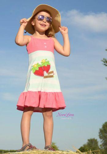 Produktfoto von 73engelchen zum Nähen für Schnittmuster Trägerkleid Lara