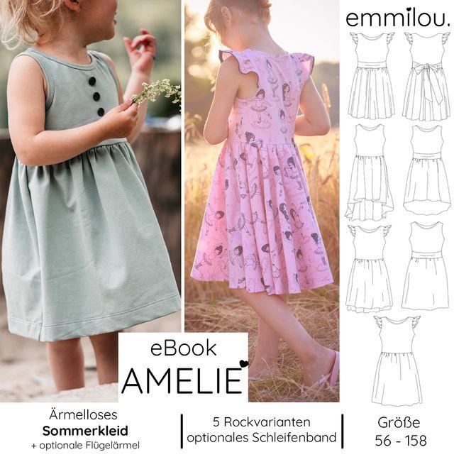 Produktfoto von emmilou. zum Nähen für Schnittmuster himmlische Amelie