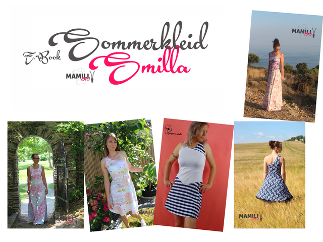 Produktfoto von Mamili1910 zum Nähen für Schnittmuster Sommerkleid Smilla