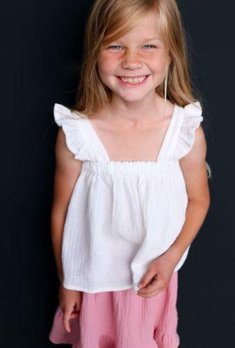 Produktfoto von Kid5 zum Nähen für Schnittmuster Carla Top & Dress