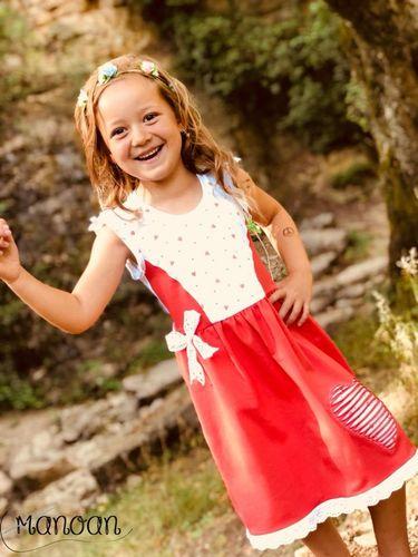 Produktfoto von Engelinchen zum Nähen für Schnittmuster Sommerkleid Sue