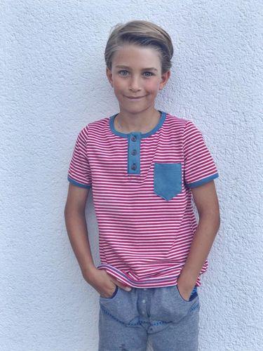 Produktfoto von Meine Herzenswelt zum Nähen für Schnittmuster Shirt Teens - Dein Theo