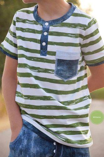 Produktfoto von Meine Herzenswelt zum Nähen für Schnittmuster Shirt Kinder - Dein Theo