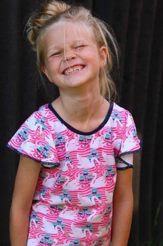 Produktfoto von Kid5 zum Nähen für Schnittmuster Fly-Top & Dress