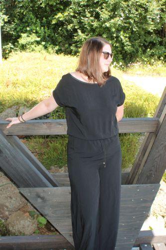 Produktfoto von einfach anziehend zum Nähen für Schnittmuster Jumpsuit Catrice