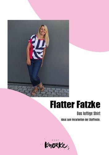 Produktfoto von echt Knorke zum Nähen für Schnittmuster Flatter Fatzke
