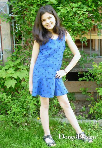 Produktfoto von DongoDesign zum Nähen für Schnittmuster Kleid Valentina