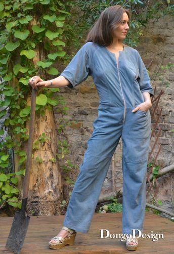 Produktfoto von DongoDesign für Schnittmuster Jumpsuit Emma Peel