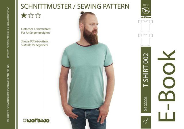 Produktfoto von worawo für Schnittmuster T-Shirt Herren 002